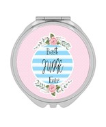 Best JUDGE Ever : Gift Compact Mirror Christmas Cute Birthday Stripes Blue - £9.44 GBP