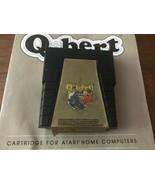 Q*BERT (Atari 400/800/XL/XE, 1983) By Parker Bros. (Cartridge & Manual) ... - $18.69