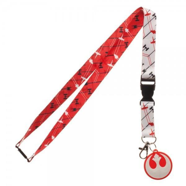 Star Wars The Last Jedi Red Rebel Lanyard
