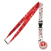 Star Wars The Last Jedi Red Rebel Lanyard - $9.97+