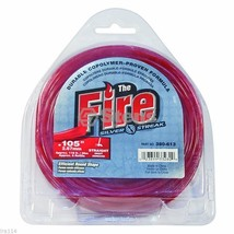 Stens #380-613 Silver Streak Trimmer Line Fire .105 1/2 lb. Donut - $11.97