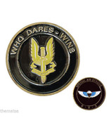SAS WHO DARES WINS SPECIAL AIR SERVICE BRITISH ARMY MILITARY CHALLENGE COIN - $27.07