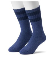 Croft&Barrow Cotton Blend Boot Socks 2 Pair  Size 10-13 Retail $20 - $10.39