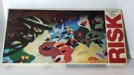 Vintage Risk World Conquest Board Game 1975 Parker Brothers  - $22.90