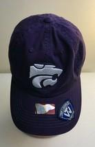 KSU KANSAS STATE WILDCATS CAP HAT Purple Power Cat TOWCAPS Strapback - $10.00