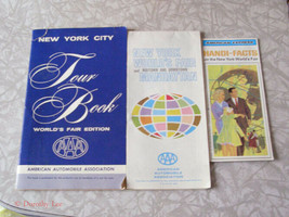 1964 New York World's Fair Brochure Lot Dupont World Of Chemistry & High... - $14.99