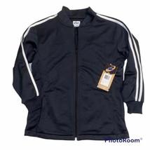 Asics Victory Fleece Full Zip Jacket Black White, Youth Size Large NWT - $19.99