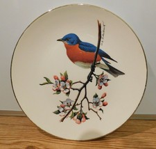 AVON Bluebird North American Songbird Collector Vintage Plate - $4.46