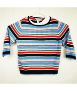 SAG HARBOR Womens Sweater 3/4 Sleeve Size XL  - £12.87 GBP