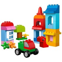 NIB Sealed Lego Duplo Creative Building Cube block box 10575 - $35.19
