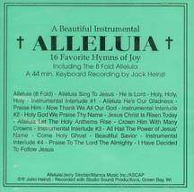 ALLELUIA - 16 FAVORITE HYMNS OF JOY  by Jack Heinzl