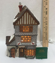 Department 56 Poulterer Dickens Village Dept. Heritage Christmas House Chickens - $19.75