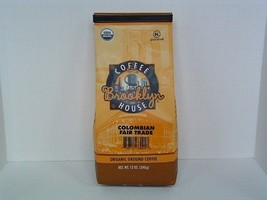 Brooklyn Coffeehouse Colombian Fair Trade USDA Organic Roasted Coffee 12oz - $9.99