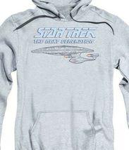 Star Trek The Next Generation USS Enterprise Starship graphic hoodie CBS1208 image 3