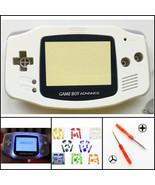 Nintendo Game Boy Advance GBA Front Light Frontlight AGS-001 Full Mod Ki... - $25.49+