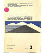 Third International Conference on Soil Mechanics and Foundation Engineer... - $4.48