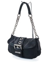 Authentic PRADA Black Nylon and Leather Chain Tote Hand Bag Purse #30986 - $259.00