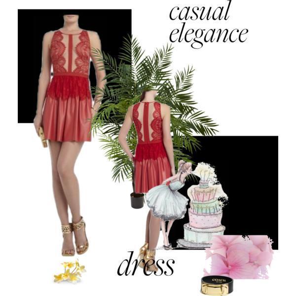 $339 NWT Auth BCBG Mazazria Layton Sleeveless Combo Dress in Dark Poppy