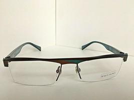 New ALAIN MIKLI AL 1911 0EM0  53mm Gunmetal Semi-Rimless Eyeglasses Frame - $149.99