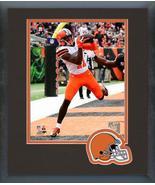 Antonio Callaway 2018 Cleveland Browns #11 -11x14 Team Logo Matted/Frame... - $43.55