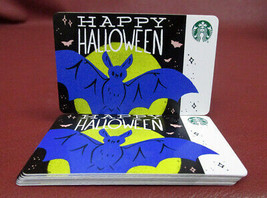 Lot of 8 Starbucks, 2019 HAPPY HALLOWEEN Gift Cards New with Tags - $18.80
