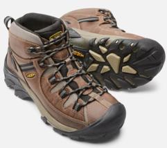 Keen Targhee II Mid Sz 10 M (D) EU 43 Men's WP Trail Hiking Boots Brown 1008418