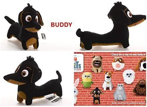 "McDonald's 2016 The Secret Life of Pets Plush toy "" BUDDY "" #7 - $7.00"