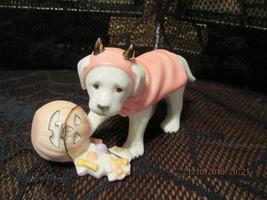"LENOX 2003 HALLOWEEN  ""SWEET LITTLE DEVIL DOG""  NEW - $45.00"
