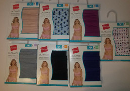 Hanes Ultimate  Hipsters womans panties 3 Pack Sizes-6/M, 7/L,8/XL,9XXL NIP - $9.79
