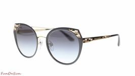 BVLGARI Women's Sunglasses BV6095 20248G Black/Grey Gradient Lens 53mm - $257.05