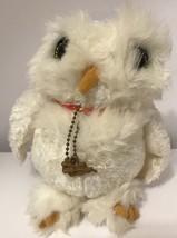 Harry Potter Hedwig Winter Snowy Owl Stuffed Animal Plush Soft Kids Matt... - $17.23