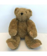 "Vermont Teddy Bear Co Jointed Plush Stuffed Animal Brown 17"" - $39.99"