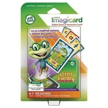Leap Frog Learning Library ImagiCard Letter Factory Adventure Reading NEW - $11.62