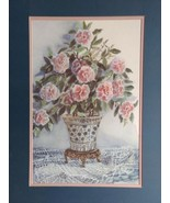 Joy Evans Limited Edition Print - Pink Bouquet Signed and Numbered 1776/... - $80.00