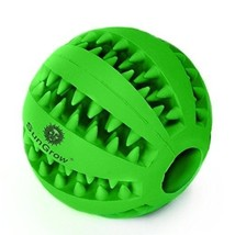 Pet Qwerks Talking Babble Ball Dog Toy Tooth Cleaning Non-Toxic Treat Fe... - $7.91