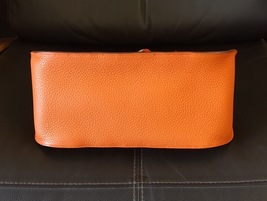 Authentic HERMES Taurillon Clemence Jypsiere Gypsy 28 Shoulder Bag NEW image 3
