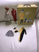 1962 Mattel Bubble Cut Barbie Doll, 2962 Ken And Case, Ken Masquerade & ... - $197.99