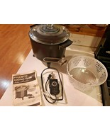 Presto 6Qt 06000-83 Electric Kitchen Kettle Multi-Cooker Steamer w/ Bask... - $47.51