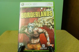 Borderlands (Microsoft Xbox 360, 2009) VG Condition W/M - $9.89