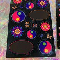 HTF Sticker Sheets Lisa Frank Dream Writers Yin Yang Unicorn 1isCOMPLETE &MINT-y image 4