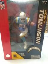 Mcfarlane NFL LaDainian Tomlinson 12 inch Series 3 San Diego Chargers Bl... - $90.00