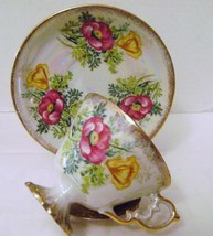 Vintage Wales China Lusterware Cup & Saucer  - $20.00