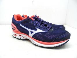 Mizuno Women's Wave Rider 21 Running Shoes Patriot Blue/White Size 6M - $71.24