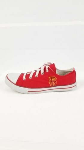 San Francisco SF Unisex Adult Converse Slip On Shoes Size 8m Red Campus Footnote image 5