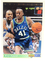 1992 Upper Deck Dallas Mavericks #378 Brian Howard - $3.95