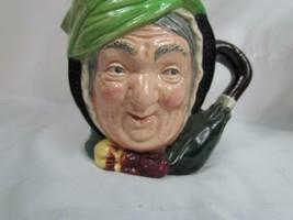 Vintage Dickens Sairey Gamp D5528 Royal Doulton Jug Large Character Mug ... - $42.74
