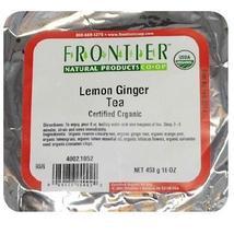 Frontier Lemon Ginger Tea (1x1LB ) - $31.99