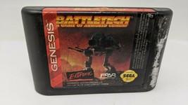 Sega Genesis Battletech : A Game Of Armored Combat *Game cartridge only - $16.82