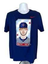 Nike  Chicago Cubs MLB  # 17 Kris Bryant  Third Base  Men's T-Shirt  Nav... - $14.01