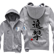 Attack on Titan Hoodies Unisex Padded Jacket - $42.99